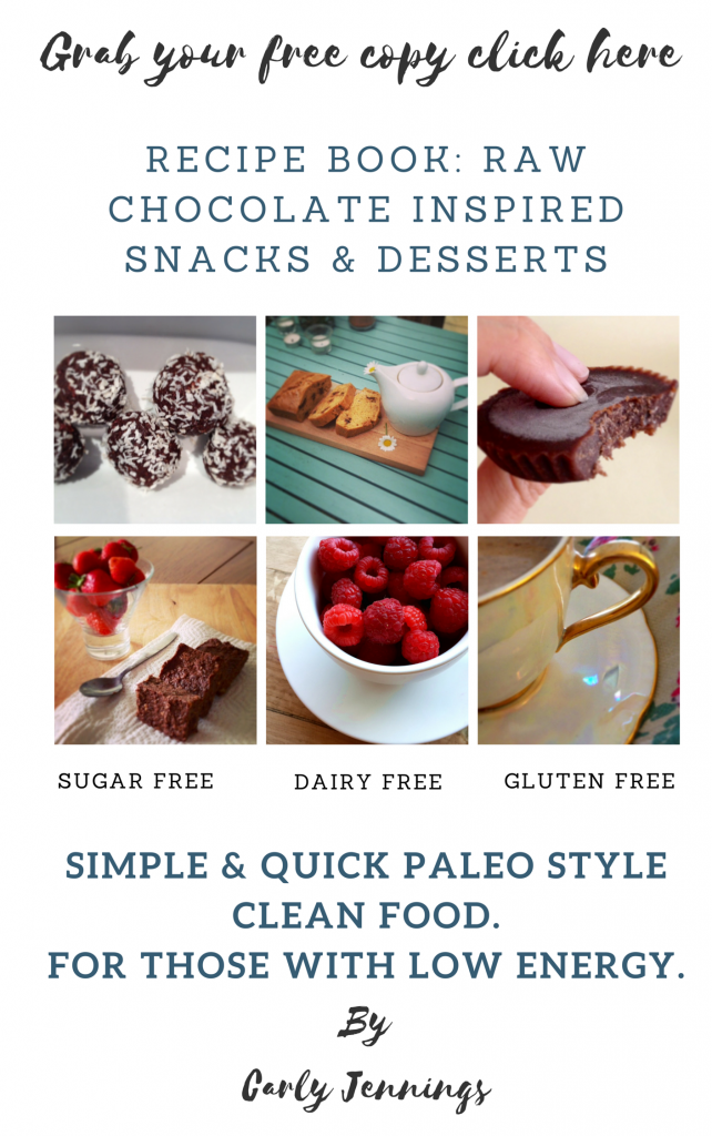 Gluten and Dairy and Sugar Free Recipe Book
