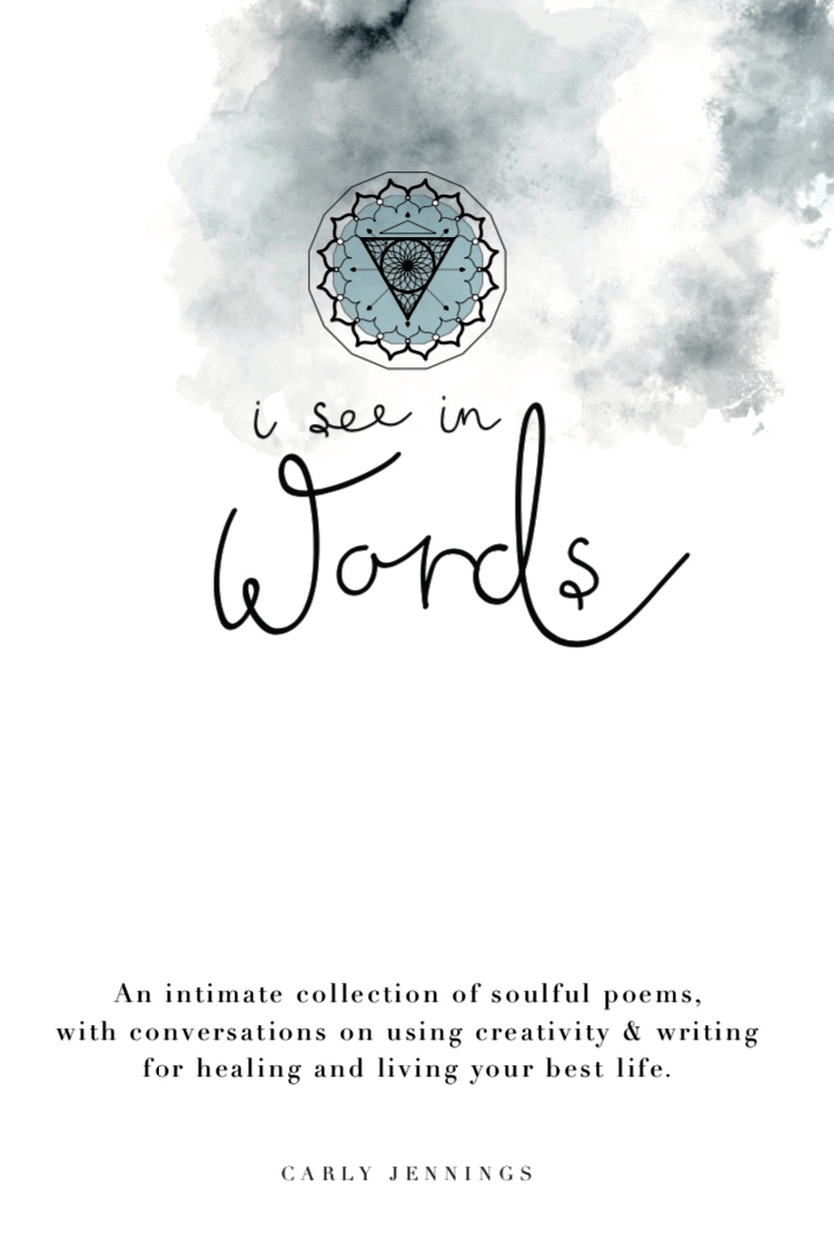 "Poetry book ""I see in words'"